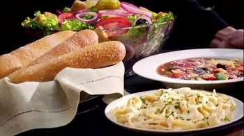 Olive Garden Tuscan Trios Lunch TV Spot, 'Soup, Salad and Breadsticks' - Thumbnail 2