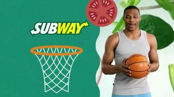 Subway TV Spot, 'Pile on Those Veggies!' Featuring Apolo Ohno, Justin Tuck - Thumbnail 1