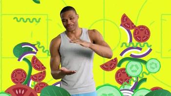 Subway TV Spot, 'Pile on Those Veggies!' Featuring Apolo Ohno, Justin Tuck - Thumbnail 3