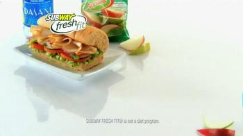 Subway TV Spot, 'Pile on Those Veggies!' Featuring Apolo Ohno, Justin Tuck - Thumbnail 9
