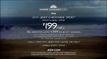 2014 Jeep Cherokee Sport TV Spot, 'Summer' Song by Michael Jackson - Thumbnail 10