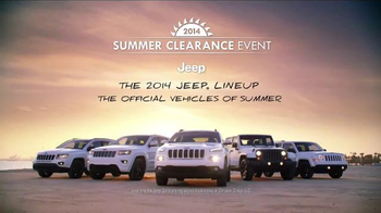 2014 Jeep Cherokee Sport TV Spot, 'Summer' Song by Michael Jackson - Thumbnail 8