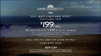 2014 Jeep Cherokee Sport TV Spot, 'Summer' Song by Michael Jackson - Thumbnail 9