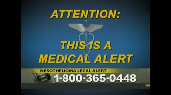 Law Offices of Jeffrey S. Glassman TV Spot, 'Mespthelioma' - Thumbnail 1