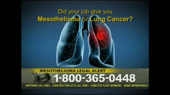 Law Offices of Jeffrey S. Glassman TV Spot, 'Mespthelioma' - Thumbnail 2
