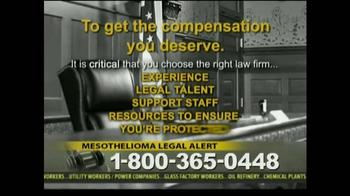Law Offices of Jeffrey S. Glassman TV Spot, 'Mespthelioma' - Thumbnail 8