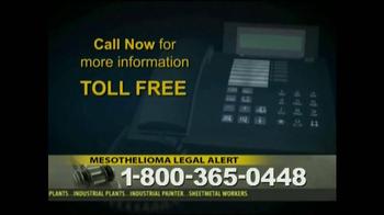 Law Offices of Jeffrey S. Glassman TV Spot, 'Mespthelioma' - Thumbnail 9