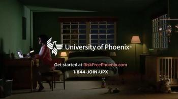 University of Phoenix Risk-Free Period TV Spot, 'Risky Click' - Thumbnail 7