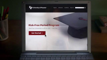 University of Phoenix Risk-Free Period TV Spot, 'Risky Click' - Thumbnail 3