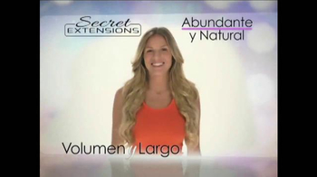 Secret Extensions TV Spot Con Daisy Fuentes [Spanish] - Thumbnail 4