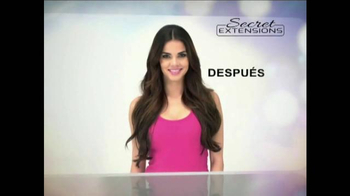 Secret Extensions TV Spot Con Daisy Fuentes [Spanish] - Thumbnail 6