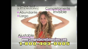 Secret Extensions TV Spot Con Daisy Fuentes [Spanish] - Thumbnail 8
