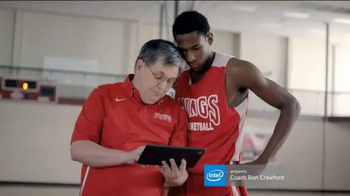 Intel TV Spot, \'Intel-Powered Tablets with Coach Ron Crawford\'