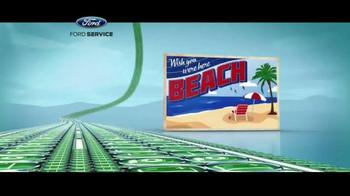 Ford Service TV Spot, 'Road Trip Check Up' - Thumbnail 4