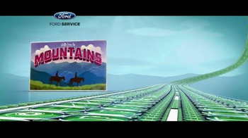 Ford Service TV Spot, 'Road Trip Check Up'