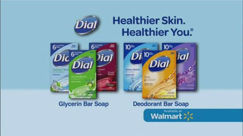Dial Bar Soaps TV Spot, 'Healthier Skin. Healthier You.'