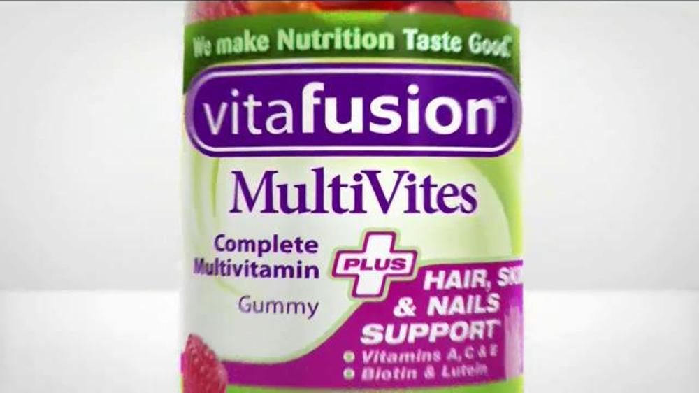 VitaFusion MultiVites TV Commercial, 'Vitamins are Easy'