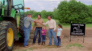 Premier Farm Realty Group TV Spot, 'Nothing Like It' Feat. Larry Woodward - 68 commercial airings