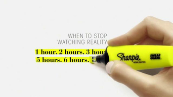 Sharpie Highlighter TV Spot, 'Always Know When to Stop' - Thumbnail 6