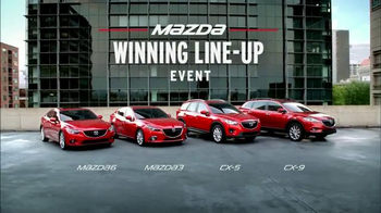 Mazda Winning Line-Up Event TV Spot, 'Mia Hamm's Drive' - Thumbnail 7