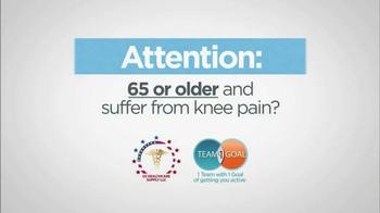 VertaLoc Dynamic Knee Brace TV Spot, 'Suffer from Knee Pain' - Thumbnail 1