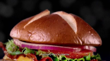 Wendy's Pretzel Bacon Cheeseburger TV Spot, 'Movie Under the Stars' - Thumbnail 8