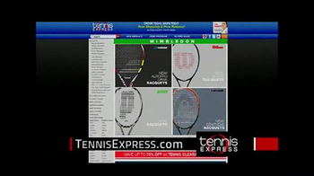 Tennis Express TV Spot, 'Unparalleled' - Thumbnail 1