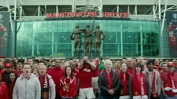Chevrolet TV Spot, 'The History of the Manchester United Shirt' - Thumbnail 9