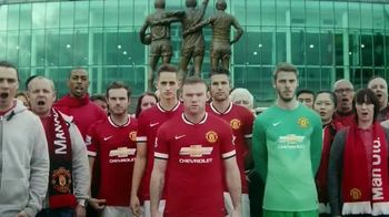 Chevrolet TV Spot, 'The History of the Manchester United Shirt'