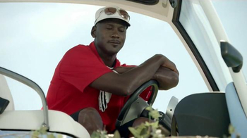 Hanes X-TEMP TV Spot, \'Golf Test\' Featuring Michael Jordan