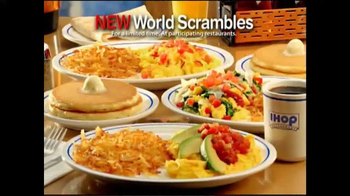 IHOP World Scrambles TV Spot, 'New! World Scrambles' - Thumbnail 8