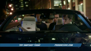 Progressive Snapshot TV Spot, 'Night Out' Featuring Chris Parnell - Thumbnail 6