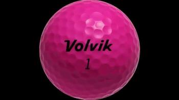 Volvik Golf Balls TV Spot