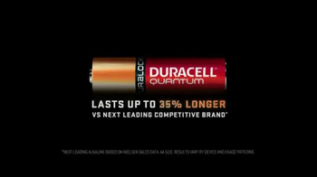 DURACELL Quantum TV Spot, 'NFL on the Line: Powers the Seattle Seahawks' - Thumbnail 10