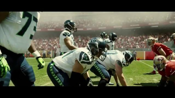 DURACELL Quantum TV Spot, 'NFL on the Line: Powers the Seattle Seahawks' - Thumbnail 4