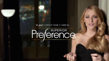 L'Oreal Paris Superior Preference TV Spot, 'Get Ready' Feat. Blake Lively - Thumbnail 1
