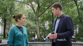 Match.com TV Spot, 'Match on the Street: My Cousin Met Someone' - Thumbnail 1