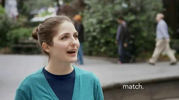 Match.com TV Spot, 'Match on the Street: My Cousin Met Someone' - Thumbnail 3