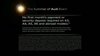 2014 Audi A4 Summer of Audi Event TV Spot, 'Nice Performance' - Thumbnail 8