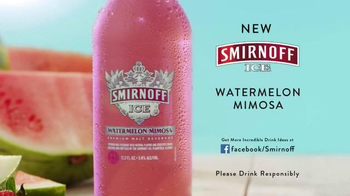 Smirnoff Ice Watermelon Mimosa TV Spot, 'Summer's Next Sensation' - 458 commercial airings