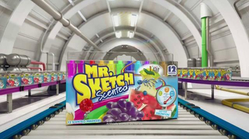 Mr. Sketch Scented Markers TV Spot, 'Make Coloring Even More Fun' - Thumbnail 10