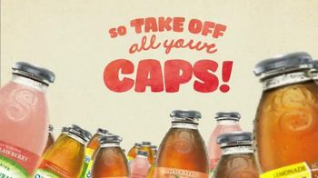 Snapple TV Spot, 'Take Off All Your Caps'