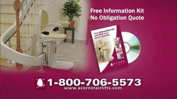 Acorn Stairlifts TV Spot, 'Sit, Relax, Ride' - Thumbnail 9