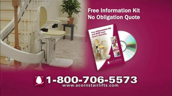 Acorn Stairlifts TV Spot, 'Sit, Relax, Ride' - Thumbnail 4