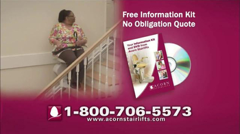Acorn Stairlifts TV Spot, 'Sit, Relax, Ride'
