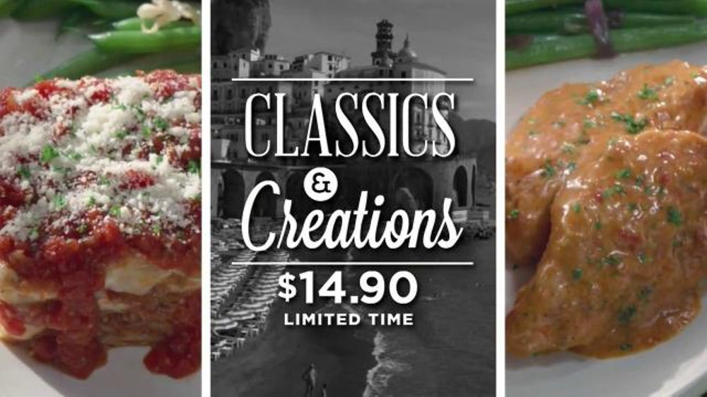 Carrabba's Grill Classics & Creations TV Commercial, 'Discover Something New'