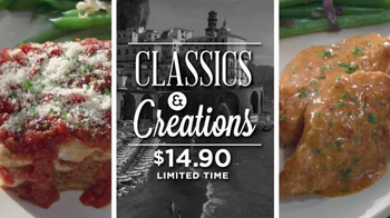 Carrabba's Grill Classics & Creations TV Spot, 'Discover Something New'