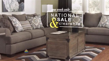 Ashley Furniture Homestore National Sale & Clearance Event TV Spot - 36 commercial airings