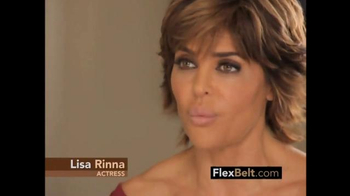 The Flex Belt TV Spot, 'This is the Button' Featuring Lisa Rinna - Thumbnail 4