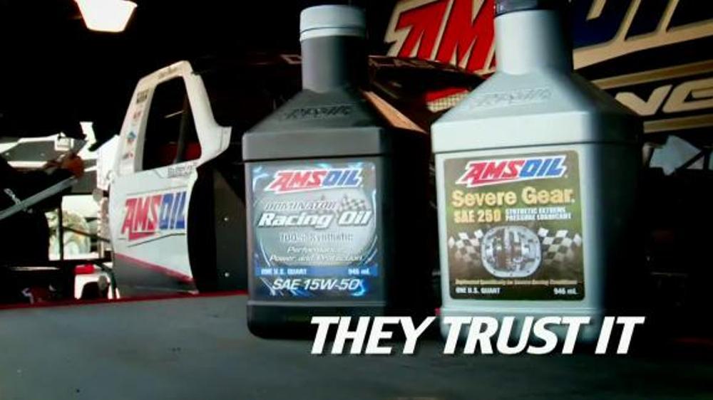 Amsoil TV Commercial, 'Trust It' Featuring Scott Douglas